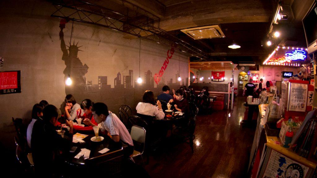 ランズカフェの店内