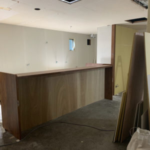 ランズカフェ別府店の進捗状況